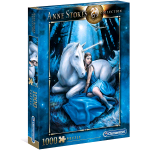 CLEMENTONI ANNE STOKES COLLECTION BLUE MOON PUZZLE 1000 Pz.