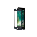 CELLY APPLE iPHONE 8/7/6S/6 3D GLASS PROTEGGI SCHERMO IN VETRO TEMPERATO ANTI IMPRONTE TRASPARENTE NERO