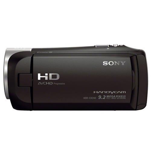 SONY HDR-CX240E VIDEOCAMERA COMPATTA FULL HD BLACK GARANZIA ITALIA SONY 87113 7113 4905524969412 HDRCX240EB.CEN