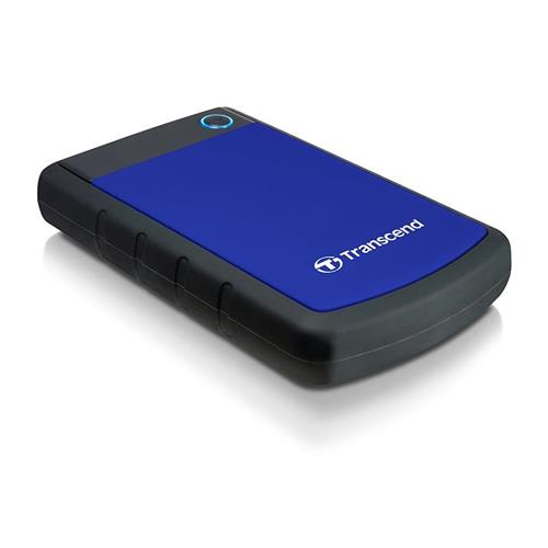 """TRANSCEND STOREJET TS2TSJ25H3B HDD ESTERNO 2.048GB USB 3.0 2.5"""" 5.400rpm BLU Transcend 101984 1984 0760557828129 TS2TSJ25H3B"""