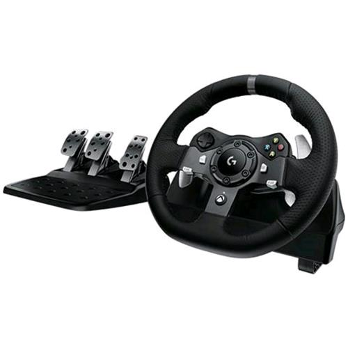 Logitech LOGITECH G920 DRIVING FORCE VOLANTE + PEDALIERA PER XBOX ONE/PC COLORE NERO