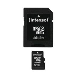 INTENSO INTENSO 3413480 SCHEDA MICRO SD HC 32GB CLASSE 10 CON ADATTATORE SD