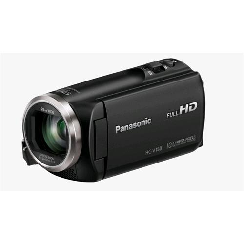 PANASONIC HC-V180EG-K VIDEOCAMERA FULL HD ZOOM 77x COLORE NERO GARANZIA ITALIA PANASONIC 172851 2851 5025232836772 HC-V180EG-K