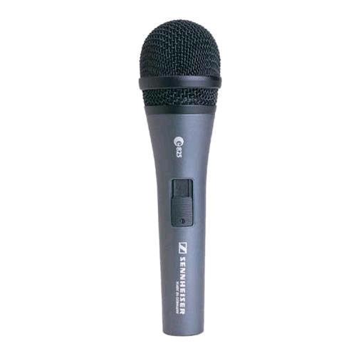 SENNHEISER E825S MICROFONO DINAMICO CARDIOIDE A CAVO COLORE GRIGIO Sennheiser 202781 2781 4006087045114 E825S