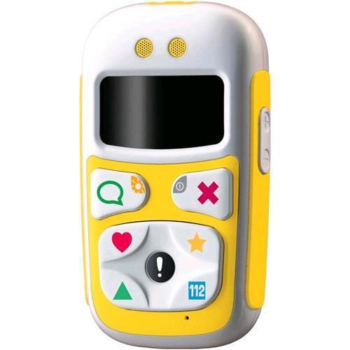 GIOMAX BABY PHONE U10 DUAL BAND GPS TASTI PREIMPOSTATI TASTO SOS COLORE GIALLO GIOMAX 196031 6031 8028153047682 ZTX21ZM07Y
