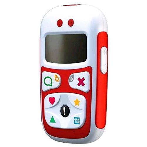 GIOMAX BABY PHONE U10 DUAL BAND GPS TASTI PREIMPOSTATI TASTO SOS COLORE ROSSO GIOMAX 196030 6030 8028153047699 ZTX21ZM07R